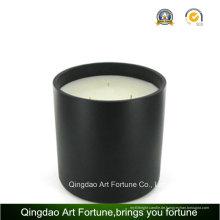 3 Dochtglas Kerze mit Luxus Geschenkbox