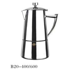 4 / 6cup Machine à café expresso en métal antique Moka Pots