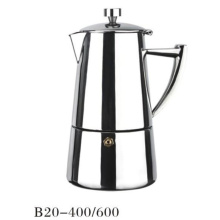 4 / 6cup Antique Metal Espresso Cafeteira Moka Pots