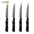 Stainless Steel PP Handle Serrated Steak Knife