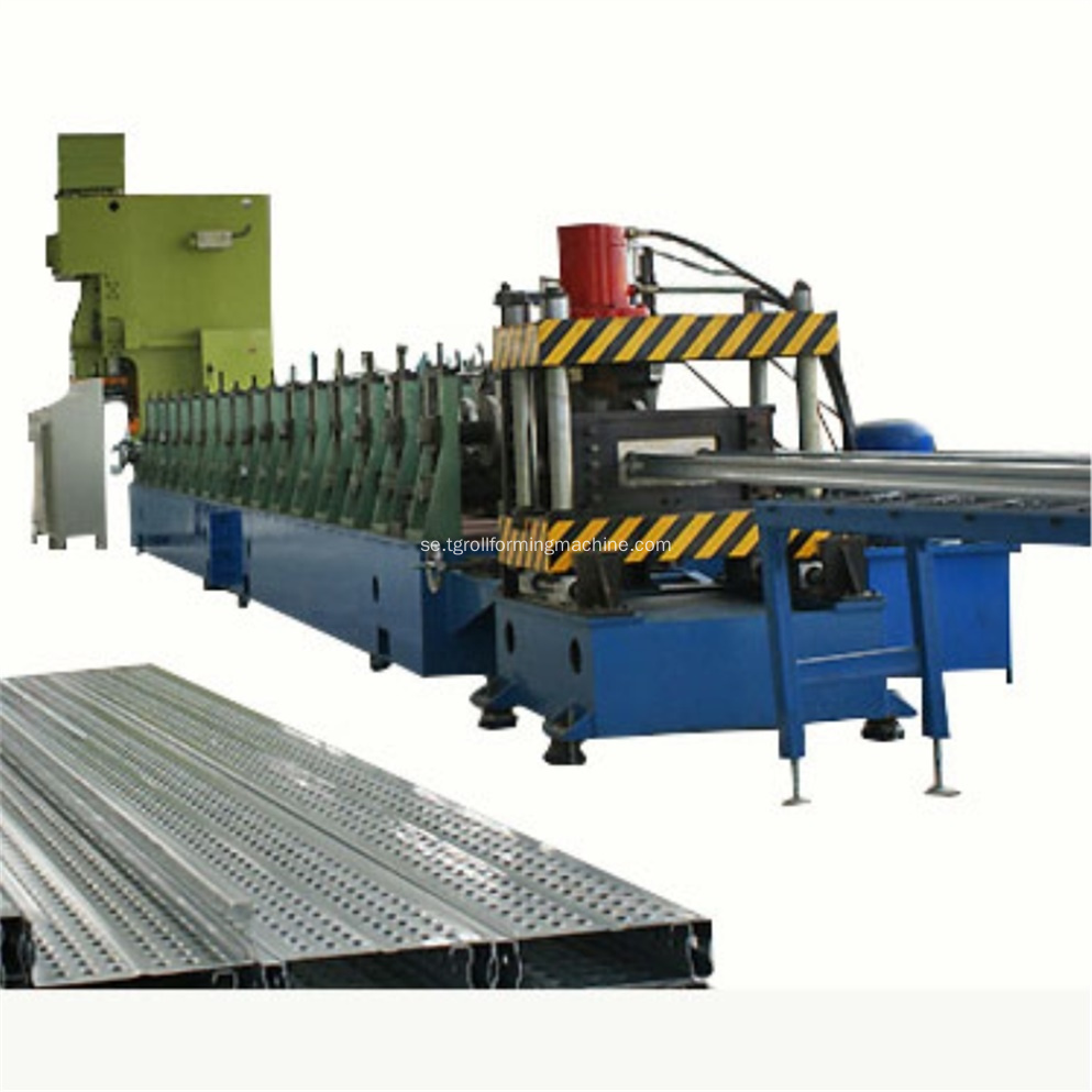 Stålskärningsplank Sheet Roll Forming Machine