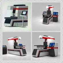 Dynamische CO2-Rofin-Dynamische Laser-Markiermaschine für Leder- und Demim-Materialien