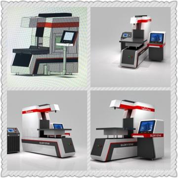 Dynamic CO2 Rofin Dynamic Laser Маркировочная машина для кожи и материалов Demim