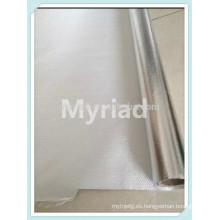 Película metalizada del poliester / mylar reflexivo, aislamiento térmico del aluminio de la hoja reflectante