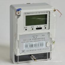 Einphasige Ladung-kontrollierte Intellektuelle Kwh / Energiezähler