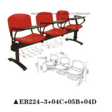 Plastic Public Chair for Training with Writing Board