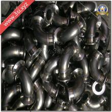Personalizado de acero inoxidable con bridas codos (YZF-PM42)