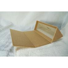 Caja de empaquetado plegable por encargo de la medicina del papel del lustre de la impresión de alta calidad