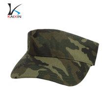 wholesale custom camo fashion high quality sun visors