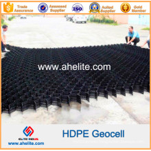 50-250mm Hot Sale Plastic HDPE Geocell for Retaining Wall