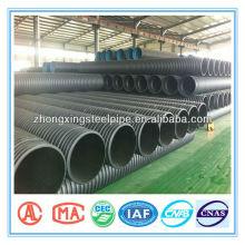 tuyau de drainage ondulée pour le PEHD 1500mm