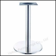 Redondo de acero inoxidable mesa de restaurante de la pierna (SP-STL265)
