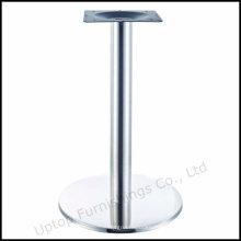 Ресторан круглый стол из нержавеющей стали ногу (СП-STL265)