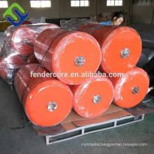 High-performance polyurethane foam filled marine EVA fender
