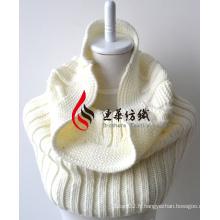 Châle en acrylique tricoté (12-BR201712-3)