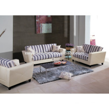Home use living room sofa set 1+2+3 with tea table KW367