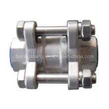 Válvula de retenção de disco de aço inoxidável