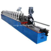 C-bentuk Metal Stud Track Roll Forming Machine