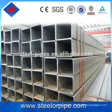 Competitive price with high quality single slot stainless steel square tube