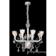 crystal candle pendant lamp,8 light, E14 base,chandelier