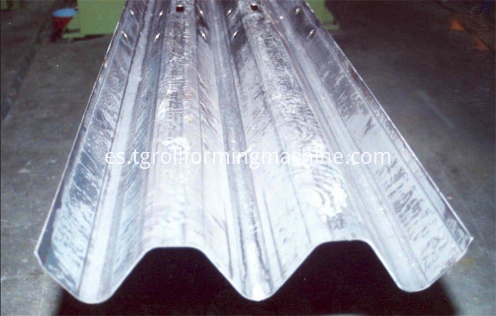 High Speed Guardrail Machine