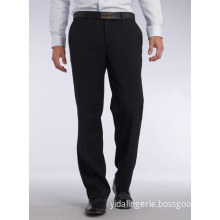 Men's Flat Front Trousers