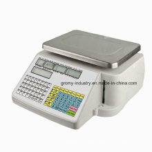 Ntep Approval Barcode Label Printing Price Computing Scale