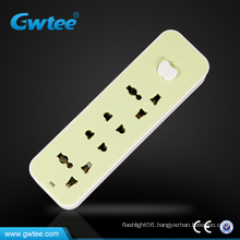4 Way Universal power extension socket power strip