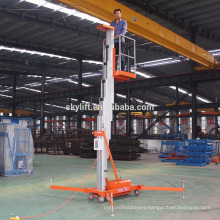6 meters single mast aluminum lift ladder