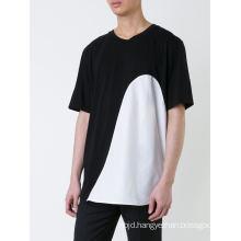 Short Sleeve Men Round Neckline Tee Shirt