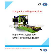 Verwendet hohe Präzision cnc Gantry Fräsmaschine für heißen Verkauf