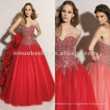 NY-2360 Hand beaded ball skirt quinceanera dress