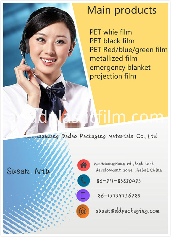 electric insulation PET film contact