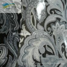 Чистый хлопок набивные ткани с покрытием ПВХ для скатерти