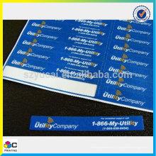 Label chrome populaire avec un service supérieur