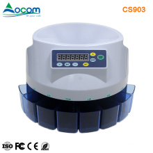 Clasificador / Contador de monedas automático de alta calidad CS903