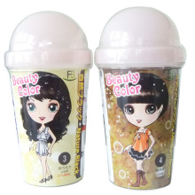 Cartoon pattern plastic cup
