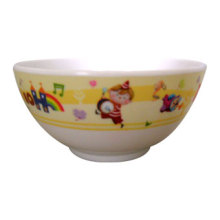Bol de riz de vaisselle de l'enfant de mélamine / vaisselle de mélamine de haute catégorie (pH2028)