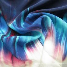 New Design Silk Printed Fabric