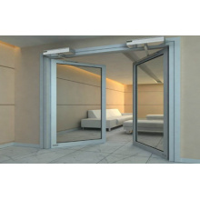 Automatic Swing Doors for Double Parting