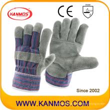 Umgekehrte Möbel Leder Arbeitssicherheit Industrielle Handschuhe (310091)