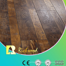 12.3mm HDF AC4 Embossed V-Grooved Waxed Edged Laminate Floor