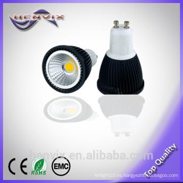 La venta caliente llevó la luz gu10 del punto, luz llevada dimmable del punto