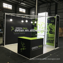 Detian Offer Aluminum Simple Booth 3x3 Exhibition Stand in Shanghai
