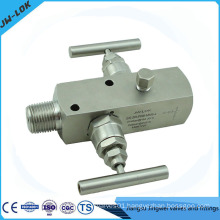 multi-port pressure gauge valve