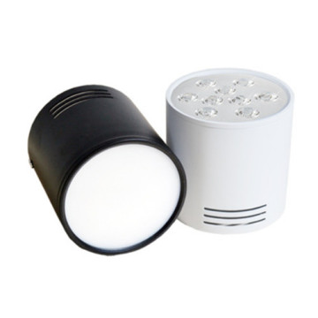 Downlight LED 3W blanc chaud noir