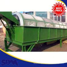 Alta capacidade de ouro trommel preço da planta de lavagem para venda