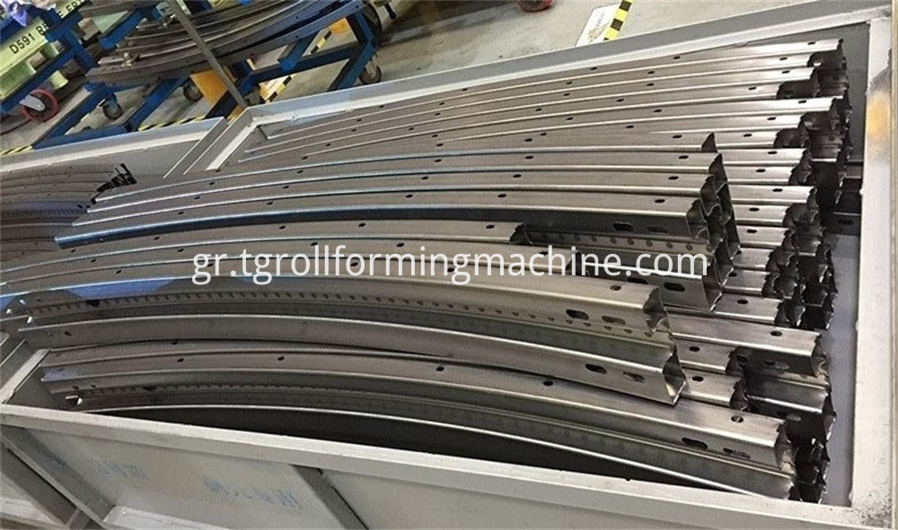 Anticollision Beam Roll Forming Machine