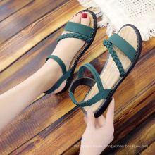 2021 New Fashion Plus Size Sandals Women Flat base soft Shoes summer outdoor ladies shopping causal sandals