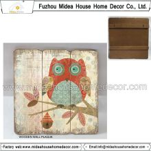Home Interior Owl Decoration Signs Wooden